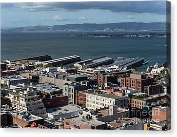 San Francisco Waterfront Canvas Print by Trekkerimages Photography