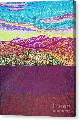 San Gabriel Song  Canvas Print by Ishy Christine Degyansky