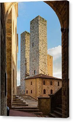 San Gimignano Canvas Print by Evgeni Dinev
