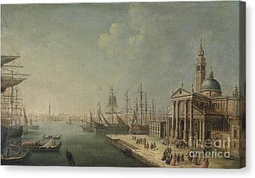 San Giorgio Maggiore In Venedig Canvas Print by Celestial Images