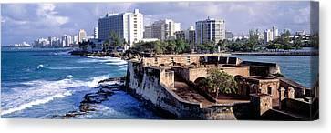 San Jeronimo Fort, San Juan, Puerto Rico Canvas Print by Panoramic Images