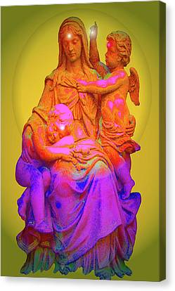Sancta Maria No. 02 Canvas Print by Ramon Labusch