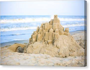 Sand Castle Canvas Print by Diane Diederich