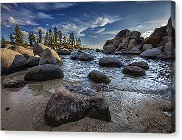 Sand Harbor II Canvas Print by Rick Berk