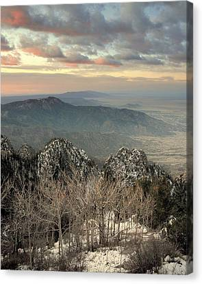 Sandia Happening.. Canvas Print by Al  Swasey