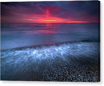 Sandpoint Sunrise  Canvas Print by Cale Best