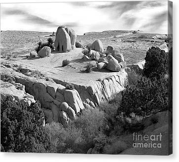 Sandstone Plateau Canvas Print by Christian Slanec