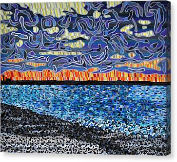 Sandy Neck Beach Canvas Print by Micah Mullen