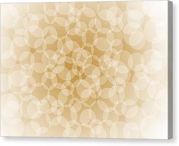 Sanguine Abstract Circles Canvas Print by Frank Tschakert