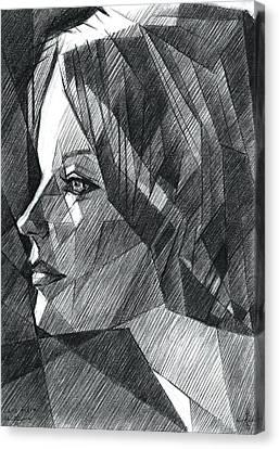 Sans Titre - 06-05-15 Canvas Print by Corne Akkers