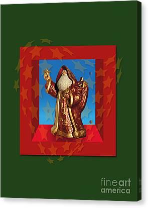 Santa Claus 12 Canvas Print by Johannes Murat