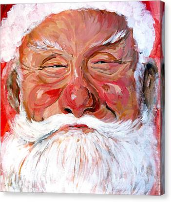 Santa Claus Canvas Print by Tom Roderick
