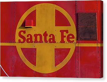 Santa Fe Railroad Canvas Print by Garry Gay