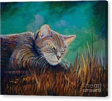 Saphira's Lawn Canvas Print by AnnaJo Vahle