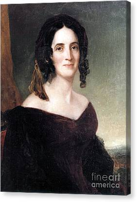 Sarah Polk, First Lady Canvas Print by Science Source