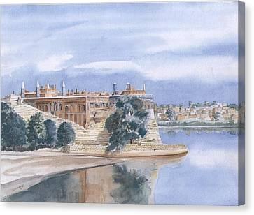 Sattaein Jo Aastan Canvas Print by Sajjad Musavi