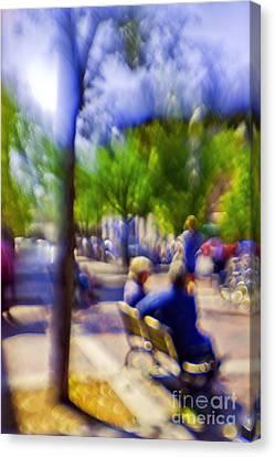 Saturday Afternoon II Canvas Print by Madeline Ellis
