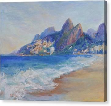 Saudades Do Rio Canvas Print by Pati Maguire