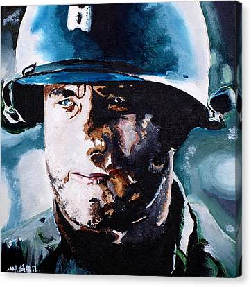 Saving Private Ryan Canvas Print by Martin Putsey