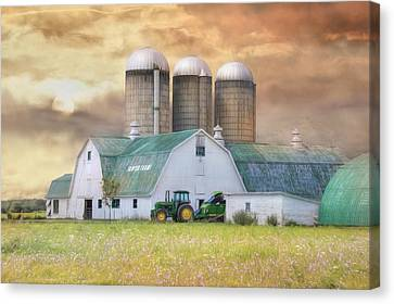 Sawyer Farms Canvas Print by Lori Deiter