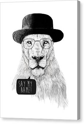 Say My Name Canvas Print by Balazs Solti