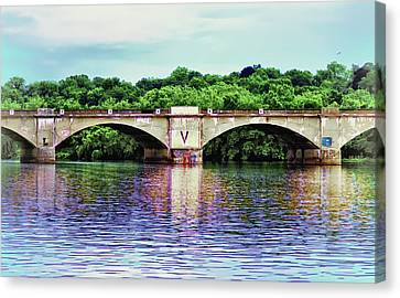Schuylkill River Canvas Print by Bill Cannon