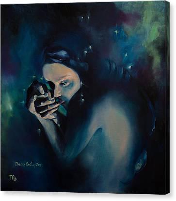 Scorpio Canvas Print by Dorina  Costras