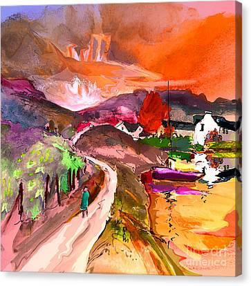 Scotland 02 Canvas Print by Miki De Goodaboom