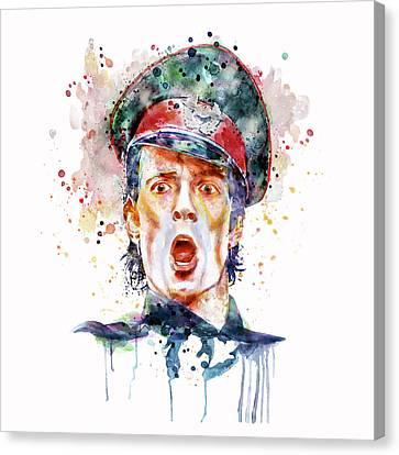 Scott Weiland Canvas Print by Marian Voicu