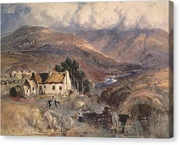 Scottish Landscape Canvas Print by Sir Joseph Noel Paton