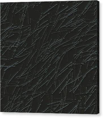 Scratches On Metal Canvas Print by Ljubomir Arsic