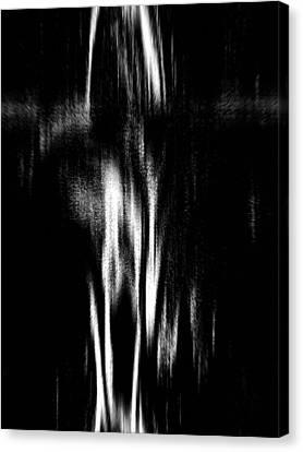 Scream Canvas Print by Charleen Treasures