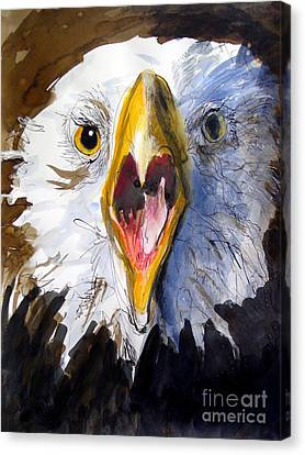 Screaming Eagle 2004 Canvas Print by Paul Miller