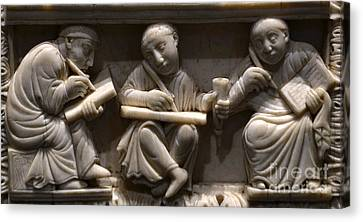 Scribes, 10th Century Canvas Print by Science Source