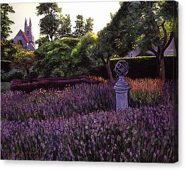 Sculpture Garden Canvas Print by David Lloyd Glover