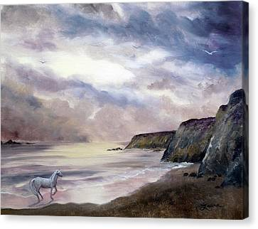 Sea Dancer Canvas Print by Laura Iverson