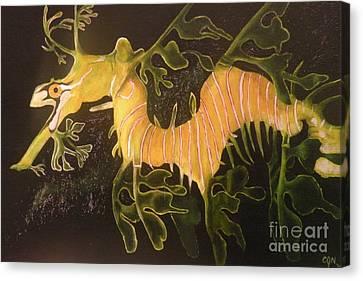 Sea Dragon Canvas Print by Carol Northington