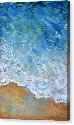 Sea Foam Canvas Print by Tom Dauria