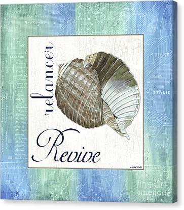 Sea Glass 4 Canvas Print by Debbie DeWitt