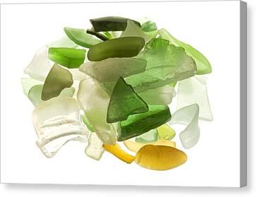 Sea Glass Canvas Print by Fabrizio Troiani