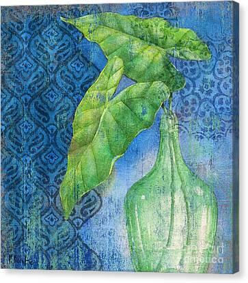 Sea Glass Palm II Canvas Print by Paul Brent