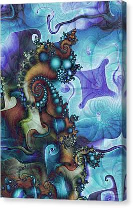 Sea Jewels Canvas Print by David April