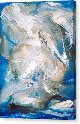 Sea Shells Canvas Print by M Diane Bonaparte