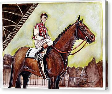 Seabiscuit  Canvas Print by Dave Olsen