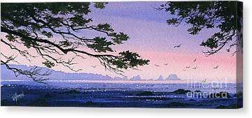 Seacoast Inspiration Canvas Print by James Williamson