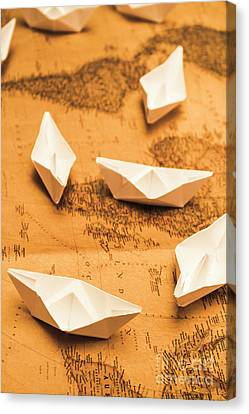 Seafaring The Seven Seas Canvas Print by Jorgo Photography - Wall Art Gallery