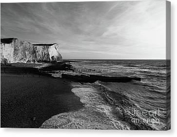 Seaford Head East Sussex England Canvas Print by James Brunker