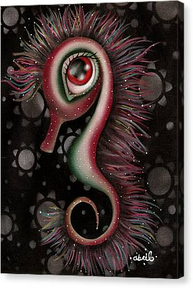 Seahorse Canvas Print by  Abril Andrade Griffith
