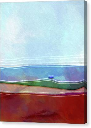 Seascape Artwork Canvas Print by Lutz Baar