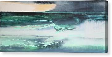 Seascape Canvas Print by Lou Gibbs